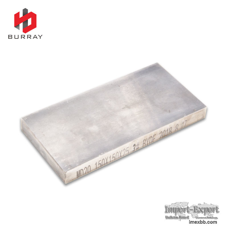 Factory Supply Solid Carbide Blank Flat Bar Rectangular Plate