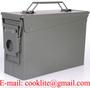 Vojna metalna municijska kutija / sanduk - M19A1