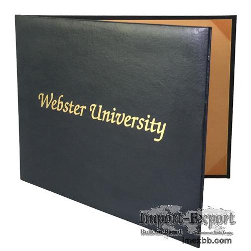 Double Sided Moiré Diploma Folder