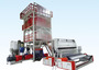 ABA Co-Extrusion Line Twin Head Blown Film Machine