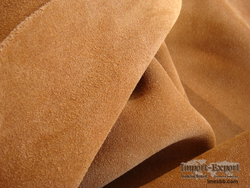 Shoe materials //  Synthetic velour