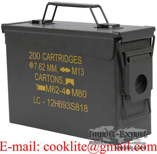Kleine Munitionskiste Aufbewahrungskiste M19A1 Cal 30 Militärkiste Munition