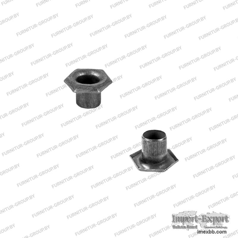Shoe metal accessories //  Eyelets //  Eyelet 051 TE