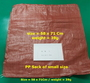 recycle pp woven sacks