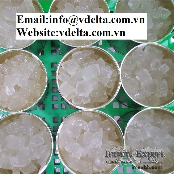 High quality canned aloe vera jelly viet nam