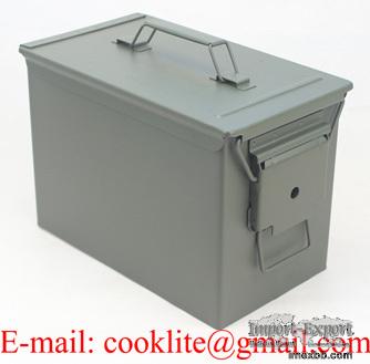 Munitie bewaar doos Munitiekist staal - M2A1 50 Cal