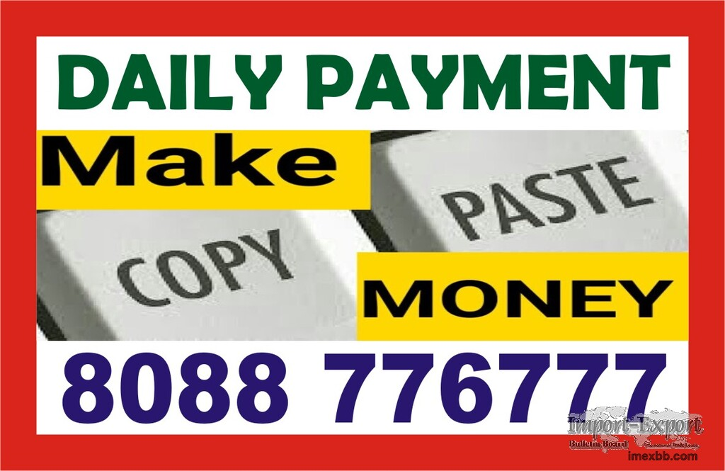 Online Copy Paste Work  Get Paid Daily  1592   Make income