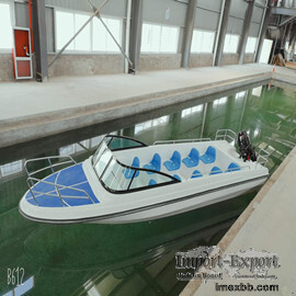 passenger boat fiberglass boat FRP boat speed boat sport boat.. 6.3m