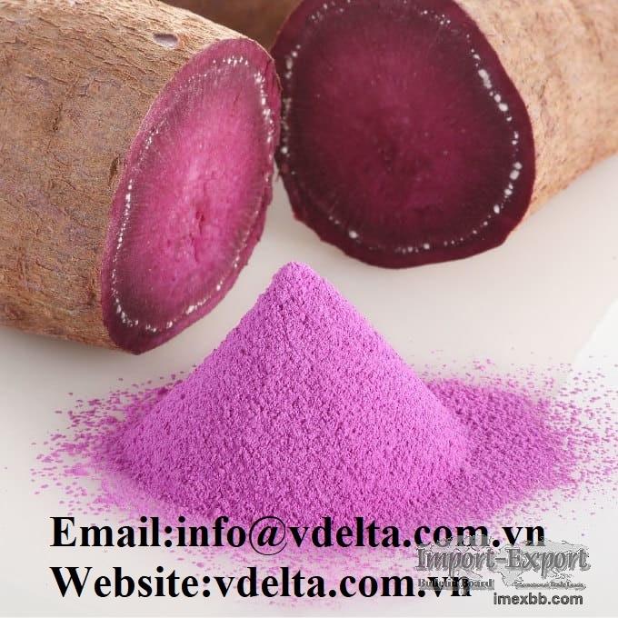 High quality sweet potato powder besst price from  viet nam