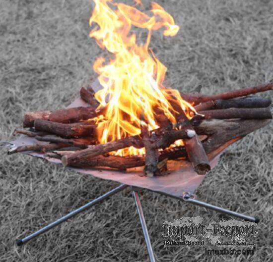 Outdoor bonfire stand