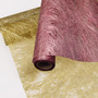 Floral glitter non woven fabric roll,flower wrapping paper of polyester non