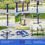 Outdoor fitness Equipment outdoor park exercise machine fitness accessories