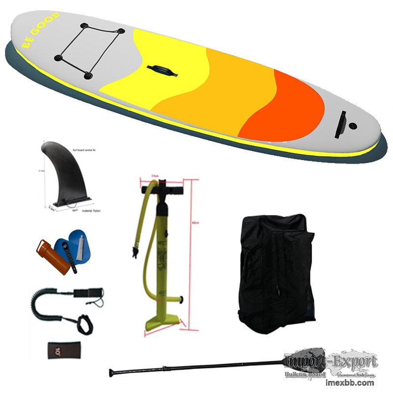Inflatable Stand Up Paddle Board Isup Water Craft For The Sport Of Surfing