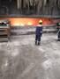 Molten aluminium flux feeder