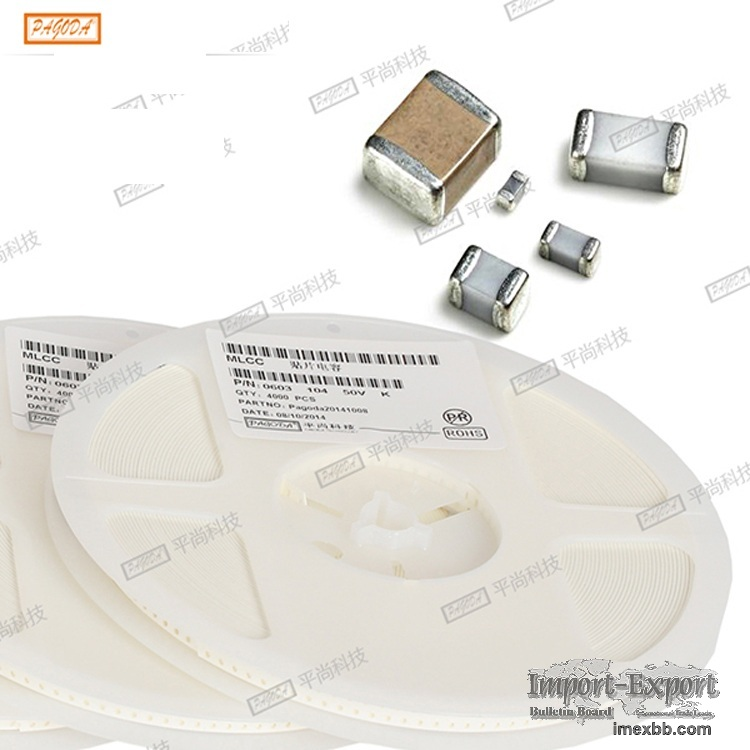 SMD capacitor 1608 series