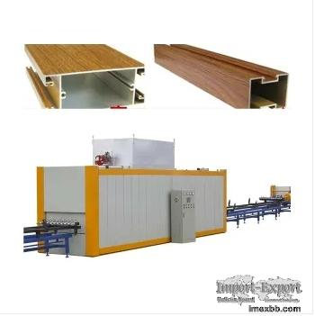 wood grain transfer machine/wood effect machine