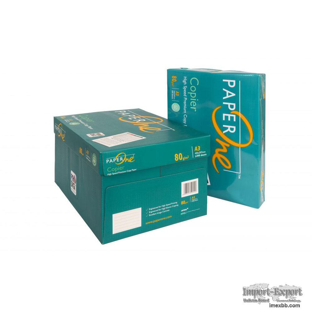 Paper One A4 Paper One 80 GSM 70 Gram Copy Paper / A4 Copy Paper 75gsm / Do