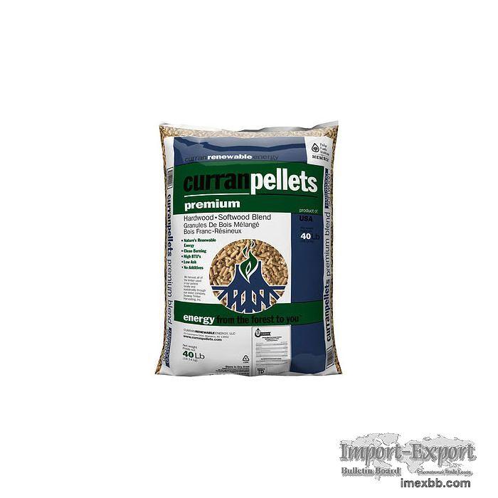 45 kg High calorific value 100% wood pellets for sale