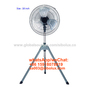 16 inch metal vintage standing electric fan with tripod FD-45M5