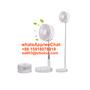mini portable USB Rechargeable Fold Telescopic plastic fan
