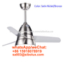 electric 26 inch Industrial remote ceiling fan with LED light FS26-10