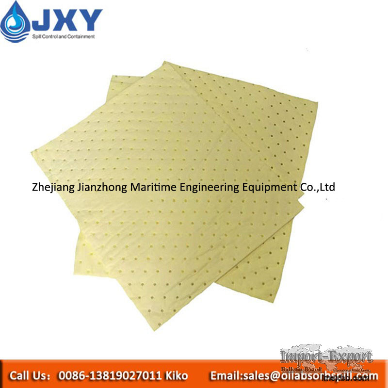Dimpled Chemical Absorbent Pads