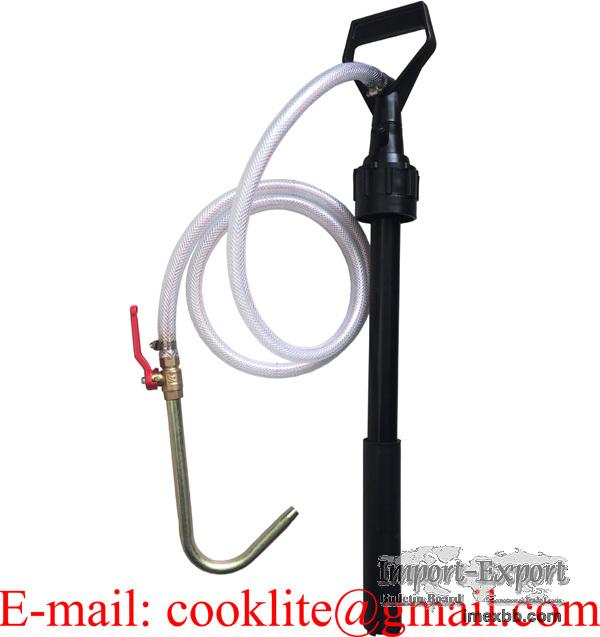 Pompa Manuala Cu Piston Pentru Transfer Ulei/Lichide Din Canistra De Plasti