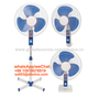 16 inch 3 in 1 plastic stand fan with timer setting