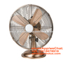 12 inch vintage desk fan with Aluminum blades