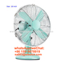 16 inch vintage table fan with Aluminum blades