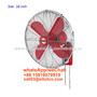 electric 16 inch deluex vintage metal wall fan