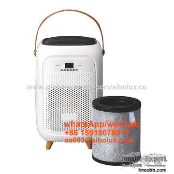 low noise USB UV Air Purifier fresh air desktop for home hotel office