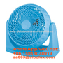 electric 8 inch plastic box fan with 360-degree rotary louver