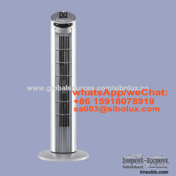 29 inch bladeless electric Tower fan for office and home appliance