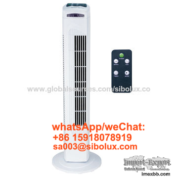 29 inch tower fan with remote control /timer for office and home appliance