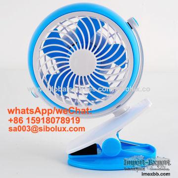 4 inch mini portable USB rechargeable desk fan/TABLE FAN/kids gift