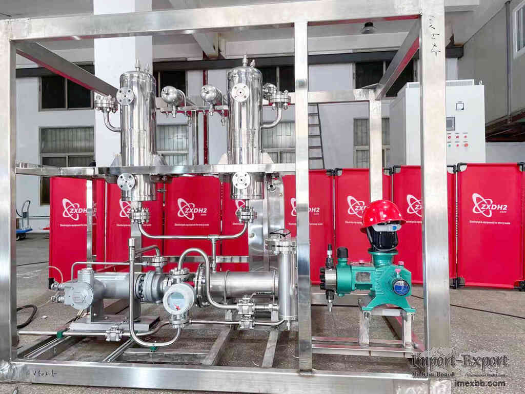 Manufacturer of electrolyzed water and hydrogen equipment
