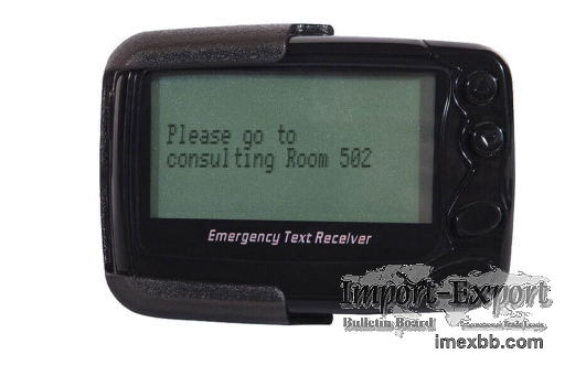 Pocsag pager wirelesscallling system alphanumeric text message beeper