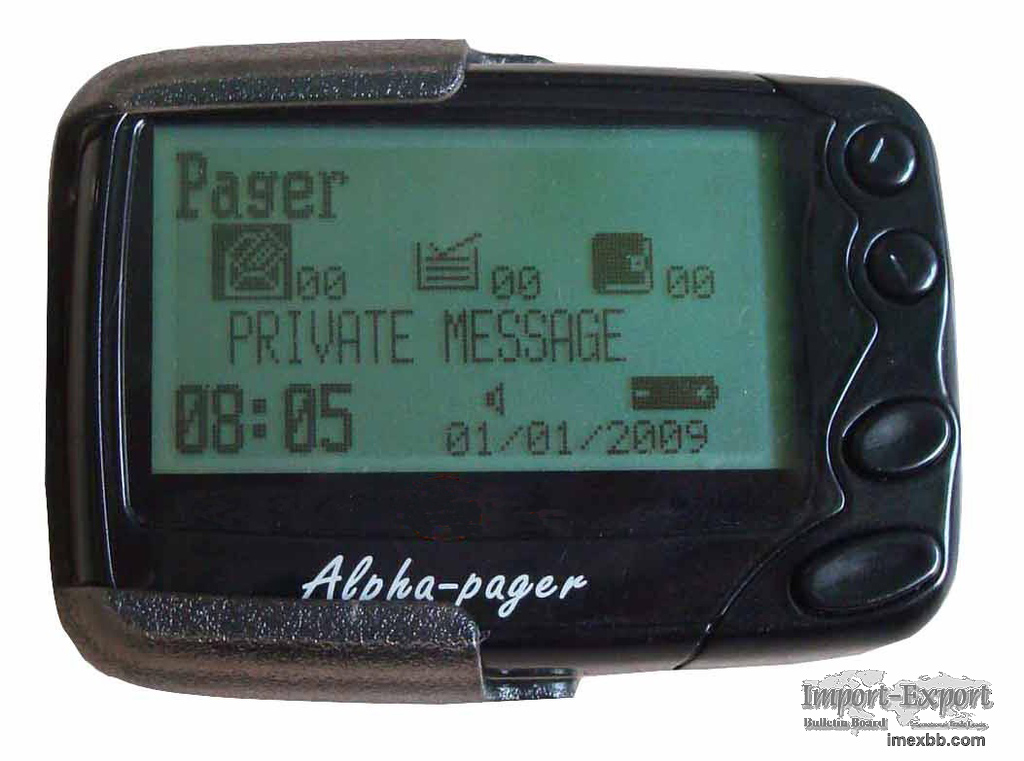 Pocsag paging system receiver restaurant/hospital wireless pager buzzer