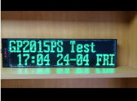 Wireless alphanumeric text message LED screen Pocsag pager display