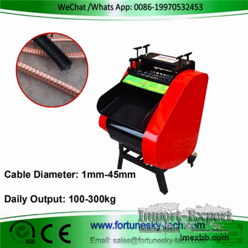 Automatic Wire Stripper Machine For Copper Scrap