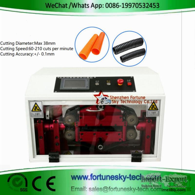 HWN-86A FEP Corrugated Tubing Cutting Machine