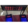 Wireless queue management number transmitter queuing call bell display
