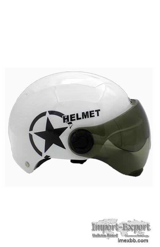 Plastic Electric Bicycle Helmet