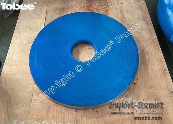 China Tobee Slurry Pump Frame Plate Liner Insert