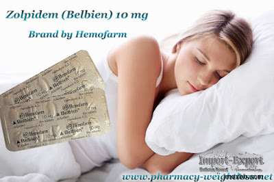 Zolpidem (Belbien) 10 mg Brand von Hemofarm