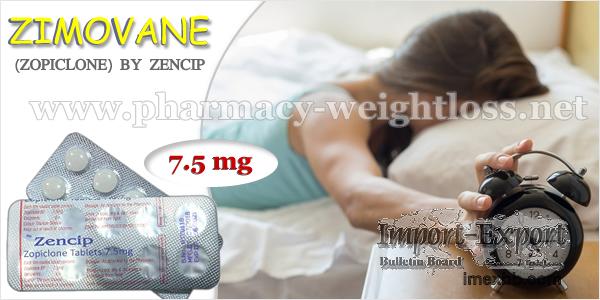 Zimovane Zopiclone 7.5 mg Zencip bestellen