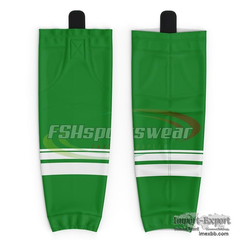 2020 custom sublimated ice hockey socks