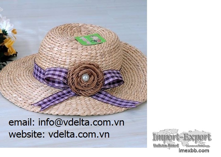Hyacinth / Straw Hat