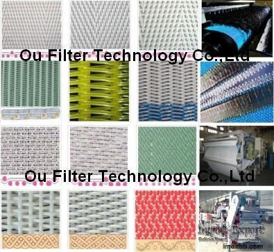 Sludge dewatering belt, polyester filter belt/mesh